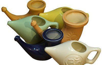 Чайнички для промывания носа