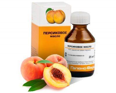 Лечение насморка персиковым маслом