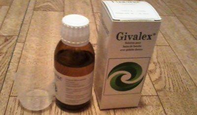 Препарат гивалекс