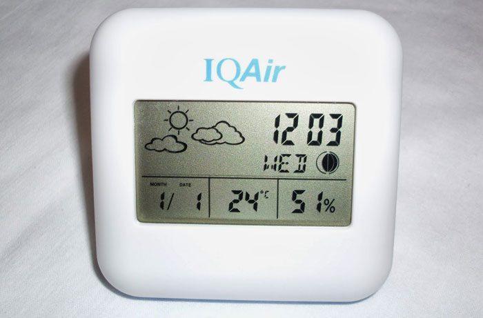 Измерение влажности и температуры в доме