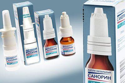 Препарат санорин