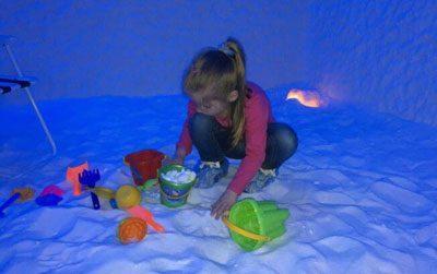 Ребенок в соляной комнате