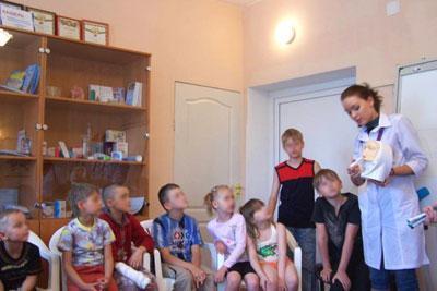 Детская группа астма школы