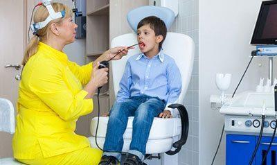 Проведение ларингоскопии