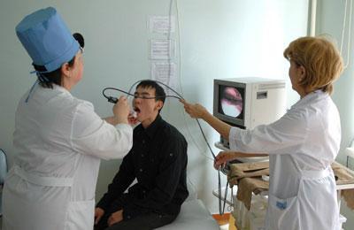 Диагностика фарингоскопия