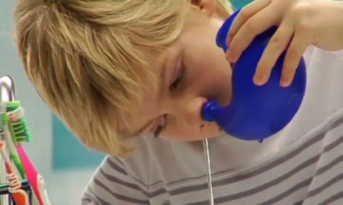 Аквамарис для промывания носоглотки