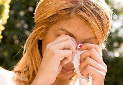 Аллергическая реакция у женщины