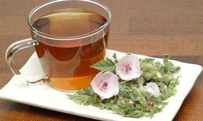 Чай с алтеем