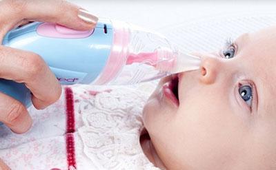 Очистка носа грудничку