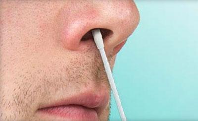 Обработка носа мазью