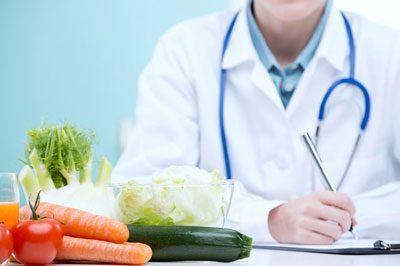 Назначение врачом диеты