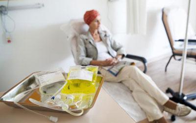 Пациент на химиотерапии
