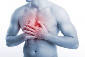 Болезненность в области грудины