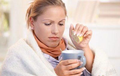 Питье во время болезни