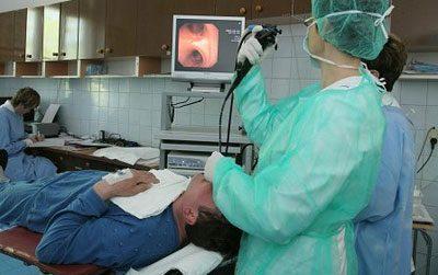 Диагностика бронхоскопия