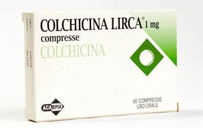 Препарат колхицин