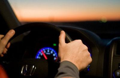 Вождение машины