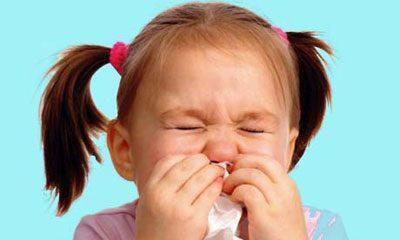 Жжение в носу у ребенка