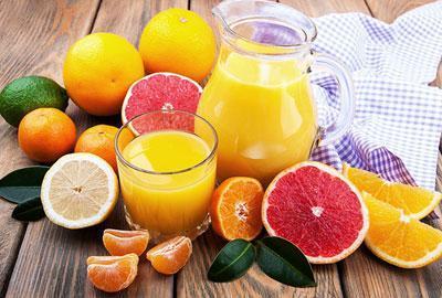 Сок из цитрусовых