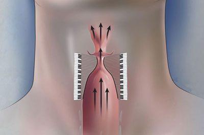 Усиление работы голосовых связок