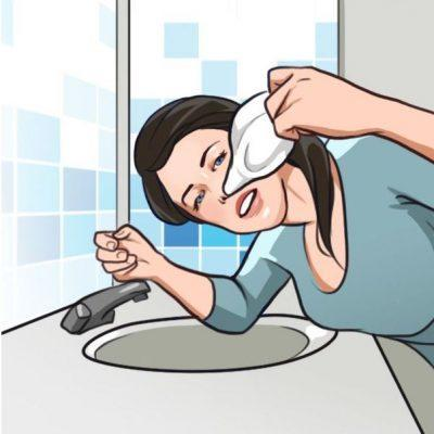 Особенности промывания носа