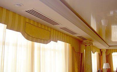Вентиляционная система в отеле