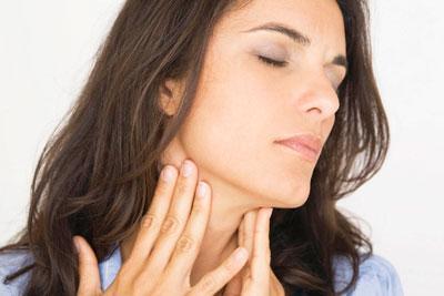 Болит горло и что то мешает глотать но не болит