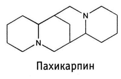 Формула препарата пахикарпин
