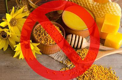 Запрет на продукты пчеловодства