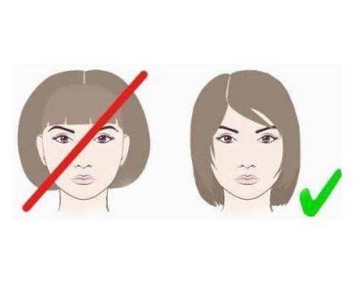 Лунообразные черты лица