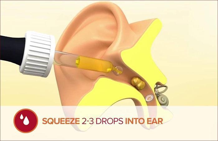 как закапывать лекарство в ушной проход