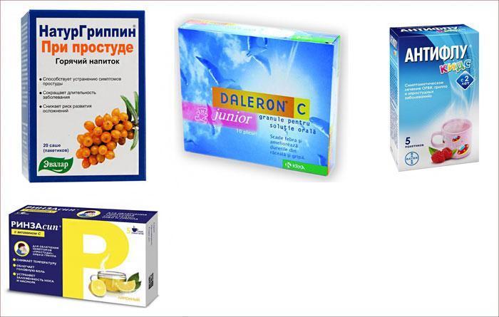 Лекарства для детей при простуде