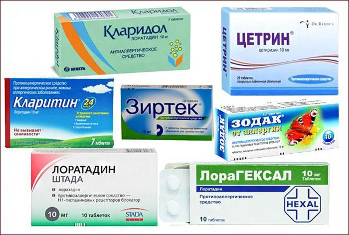 Антигистаминные препараты от кашля