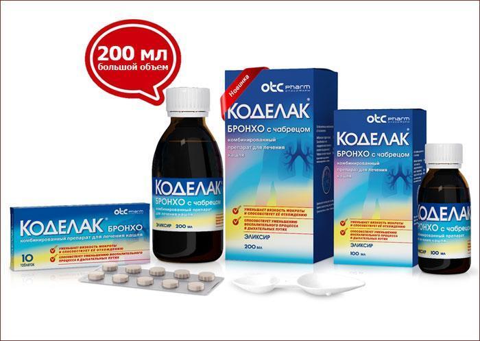 Лекарственный препарат Коделак