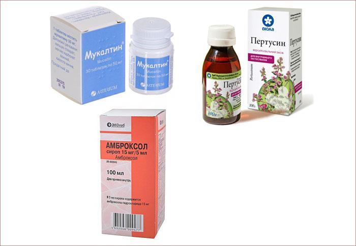 Муколитические препараты от кашля