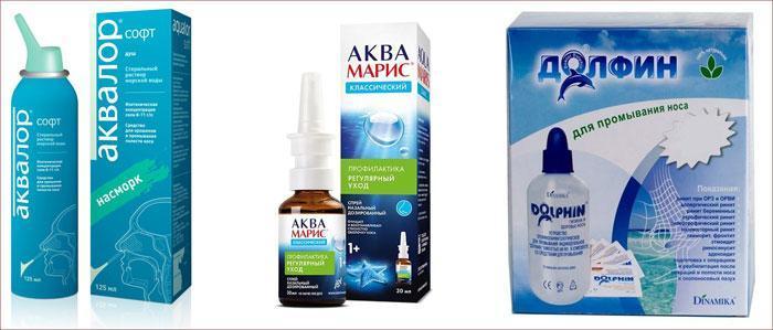 Препараты для увлажнения слизистой носа