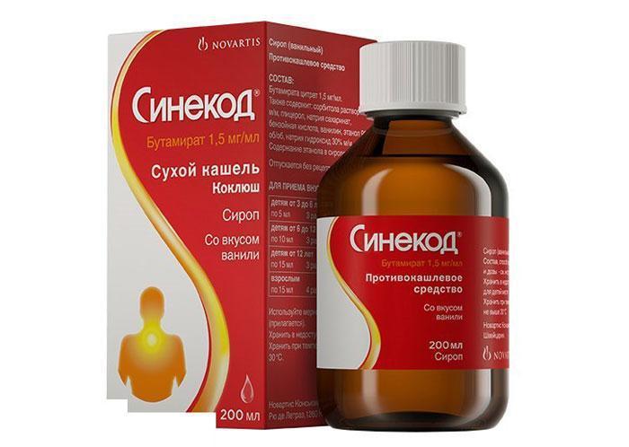 Лекарственный препарат Синекод