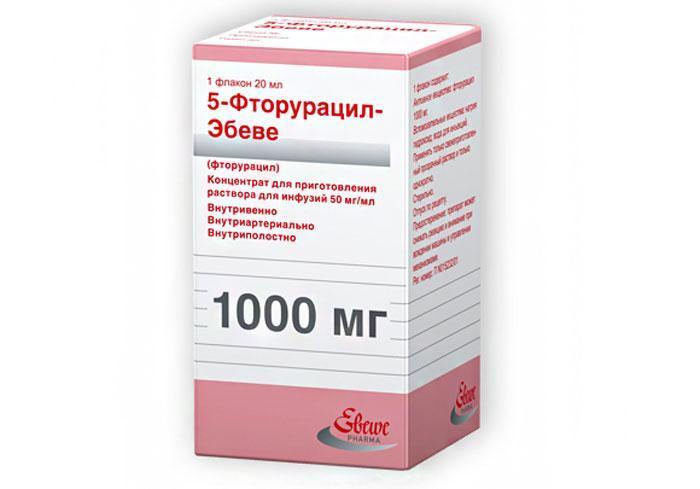Лекарственный препарат Фторурацил