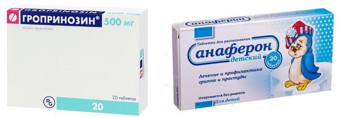 Препараты от вирусного ринита