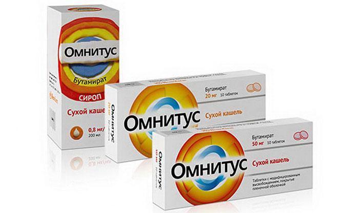 Лекарственный препарат Омнитус