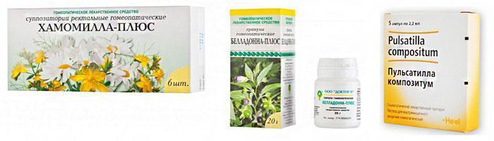 Популярные гомеопатические препараты