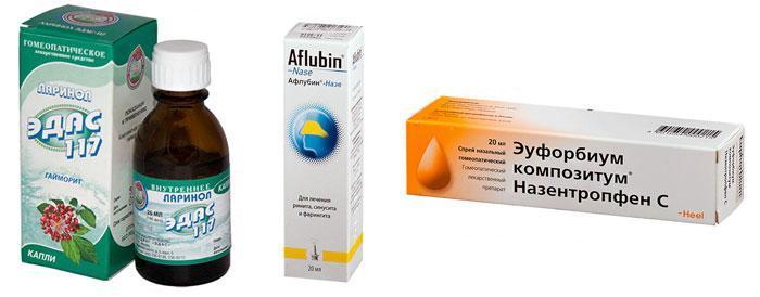 Гомеопатические препараты от гриппа и простуды