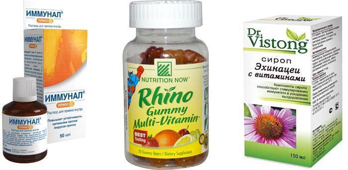 Витамины с эхинацеей для детей