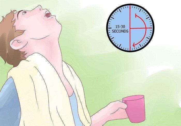 Как полоскать горло