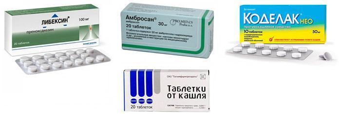 Лучшие таблетки от кашля для детей