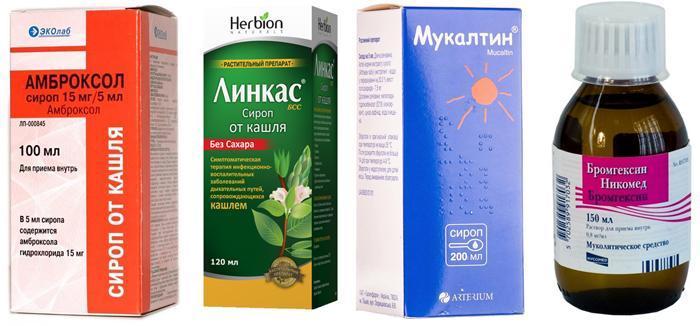 Муколитические препараты от сухого кашля при фарингите