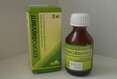 Препарат хлорофиллипт