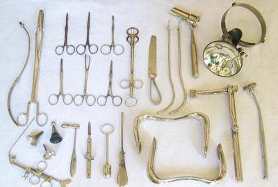 Инструменты лор врача