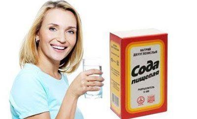 Сода для полосканий
