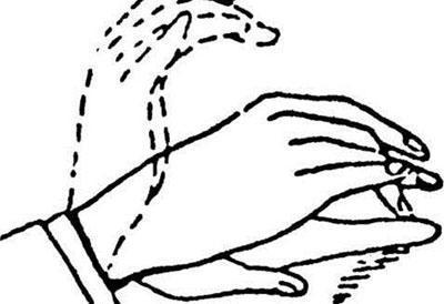 Удары пальцами при перкуссии